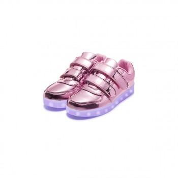 780d9d20 Ультрамодные розовые кроссовки со светодиодами для девочки размер 37 ...